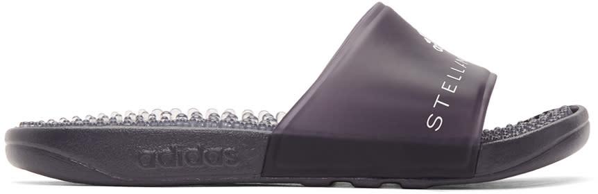 Adidas By Stella Mccartney Black Adissage Slides