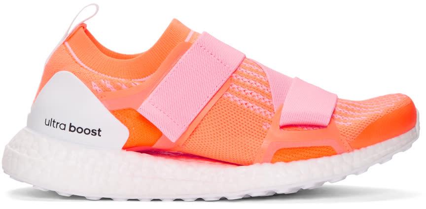 best sneakers bdbeb 13ae7 Adidas By Stella Mccartney Pink and Orange Ultraboost X Sneakers
