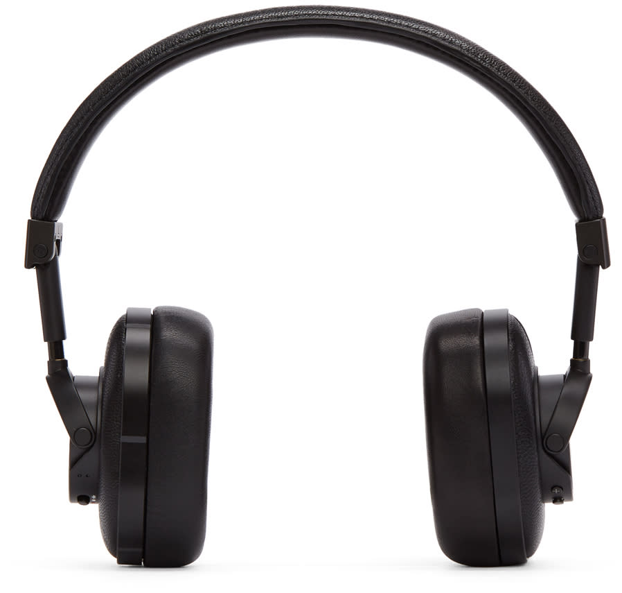 Image of Master and Dynamic Black Wireless Mw60b1 Headphones