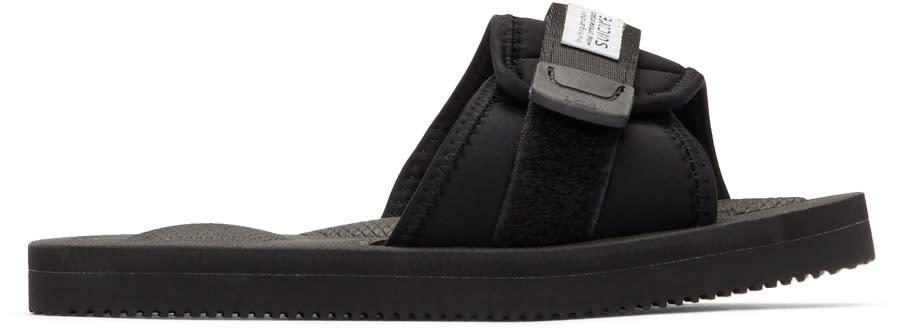 Suicoke Black Padri Sandals