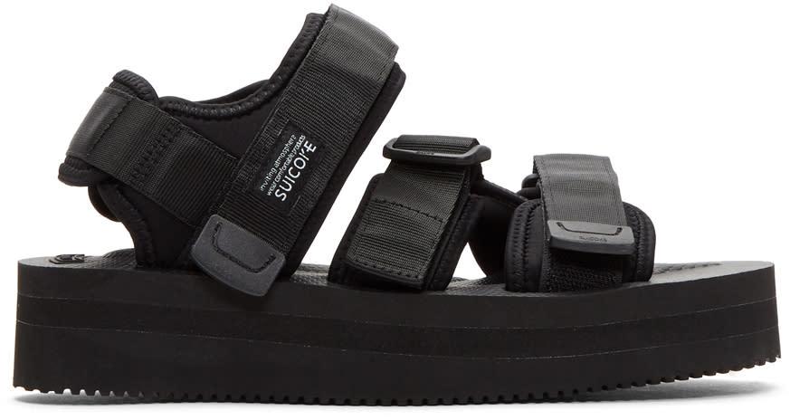 2124cf94ac0d92 Suicoke Black Kisee vpo Platform Sandals