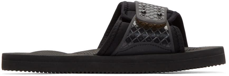 5bc032979475 Suicoke Black Siv Sandals