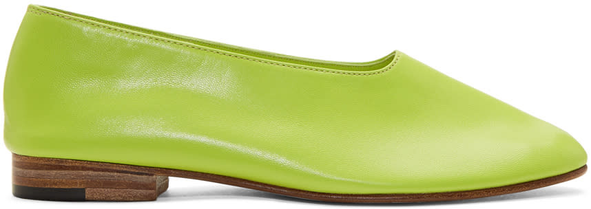 Image of Martiniano Green Glove Slippers