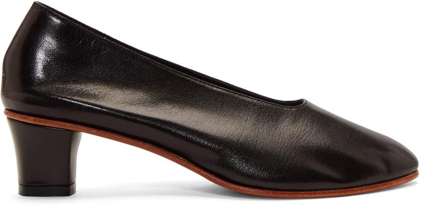 Image of Martiniano Black High Glove Heels