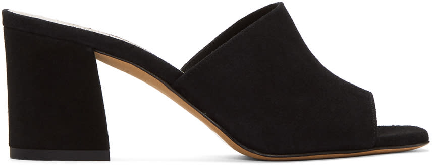Maryam Nassir Zadeh Black Mar Mules