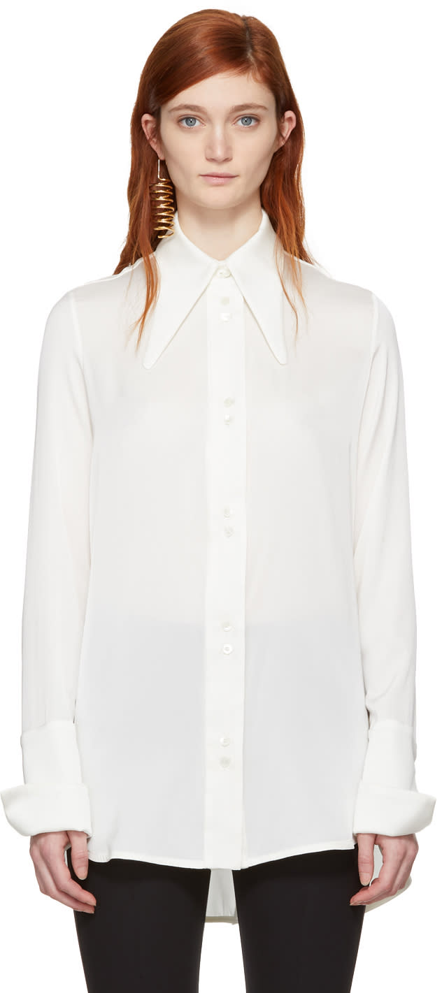 Ellery White Puppy Love Blouse