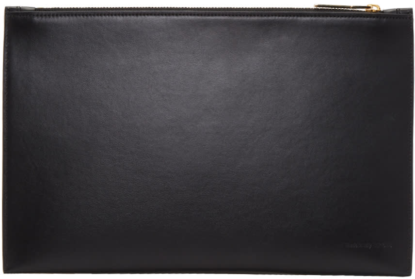 Image of Victoria Beckham Black Small Simple Pouch