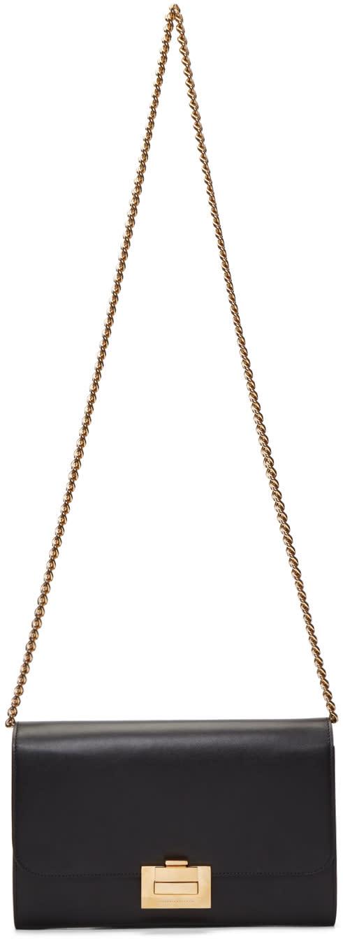 Image of Victoria Beckham Black Chain Wallet Bag