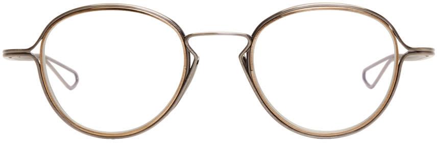Image of Dita Silver Haliod Glasses