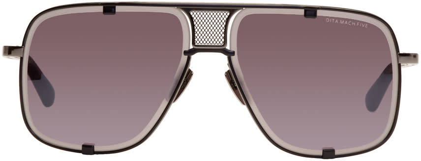 Image of Dita Black Limited Edition Mach Five Sunglasses