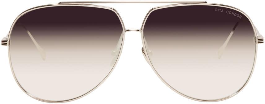 Image of Dita Silver Condor Sunglasses