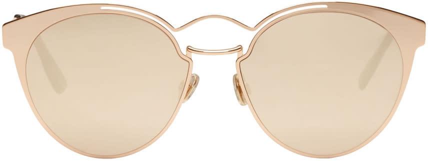 Image of Dior Gold Nebula Sunglasses