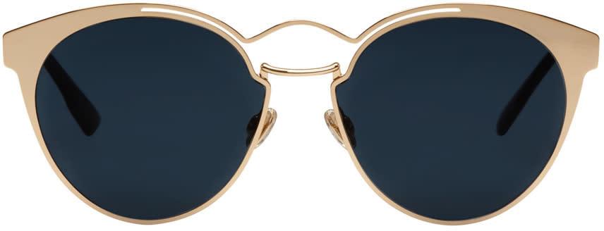 Image of Dior Rose Gold Nebula Sunglasses