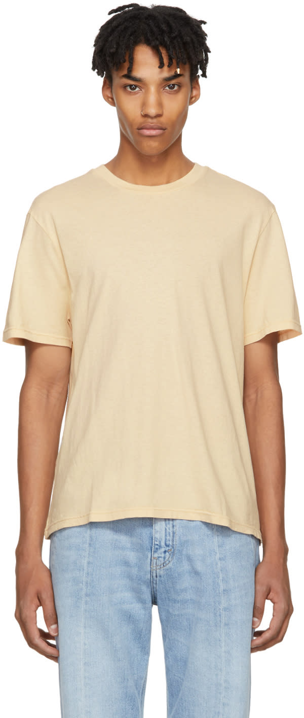 Image of Our Legacy Beige Bump T-shirt