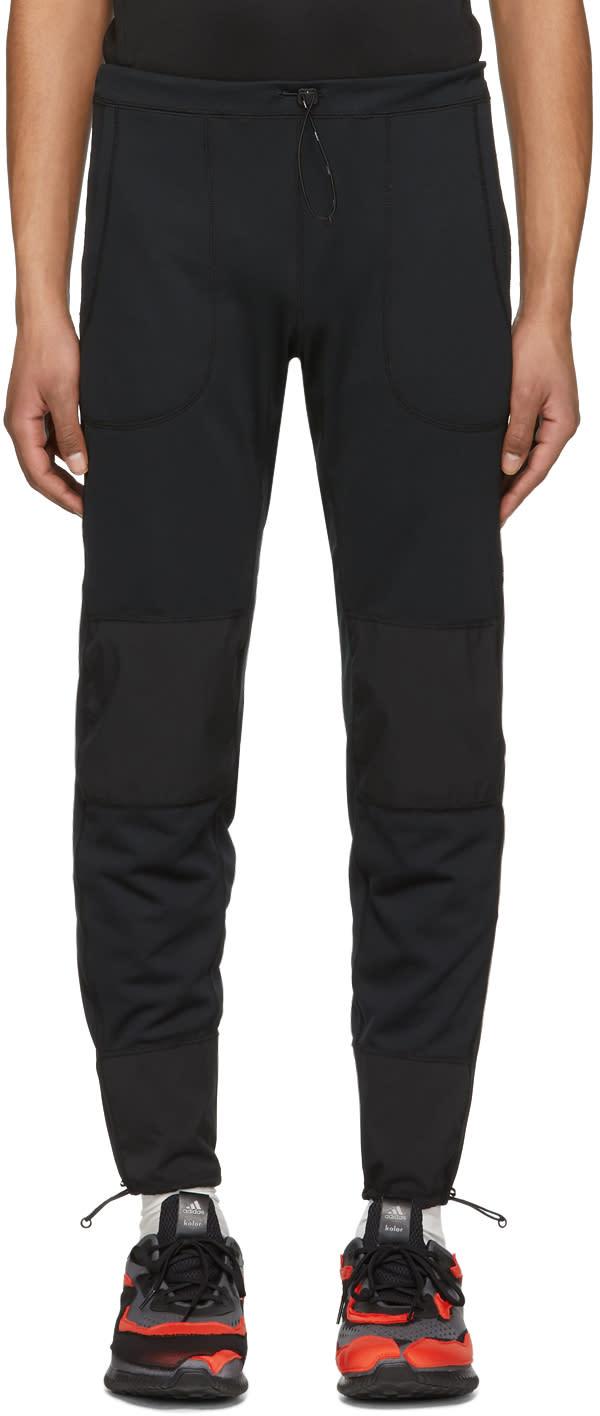 And Wander Pantalon De Survêtement Noir Dry Jersey Tight