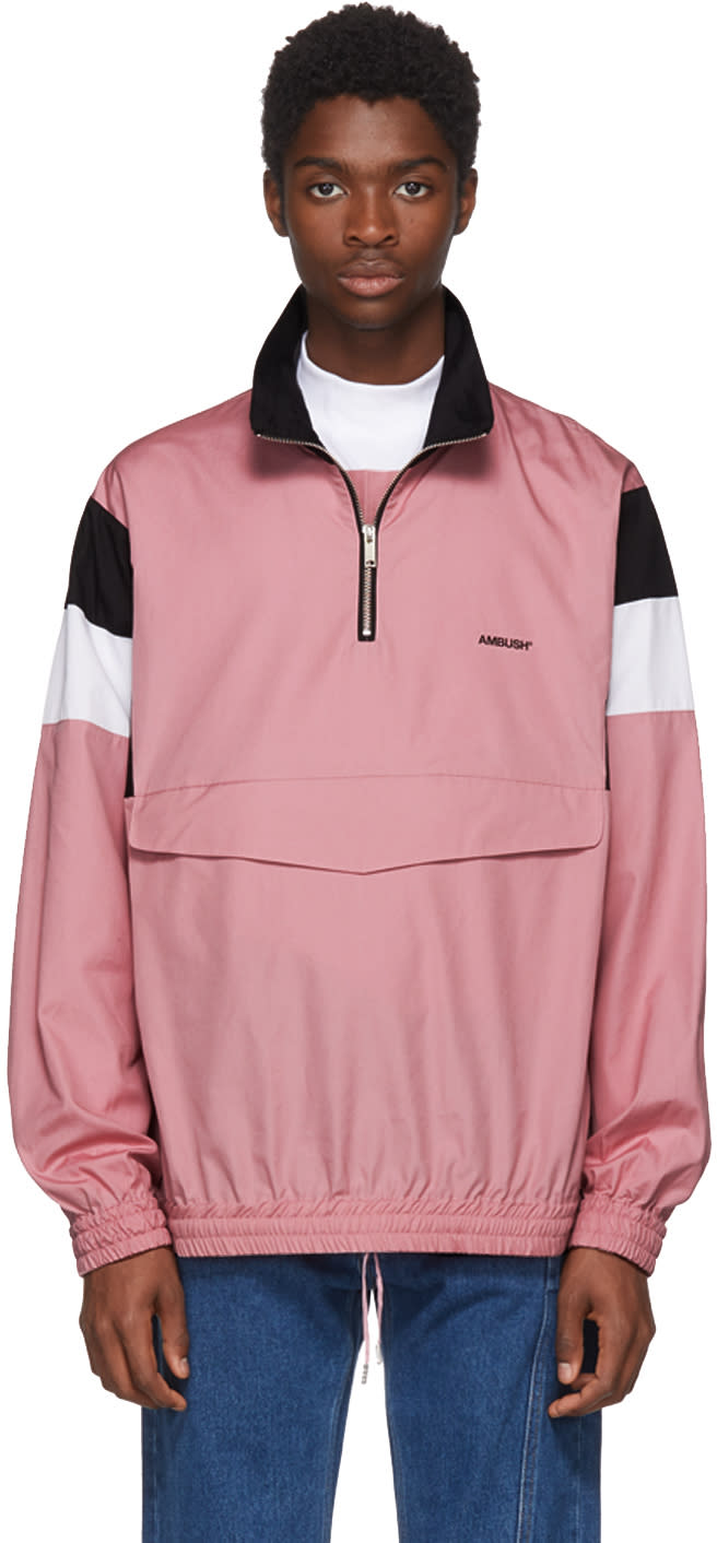 Ambush Blouson Rose Track Shirt