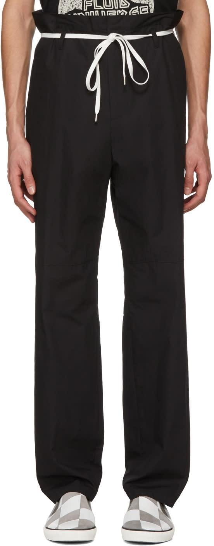 Ambush Pantalon Noir Khaki Shoe Laced
