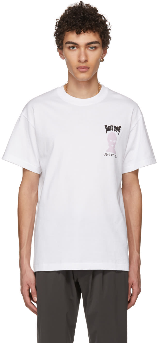 Ambush T-shirt Blanc untitled