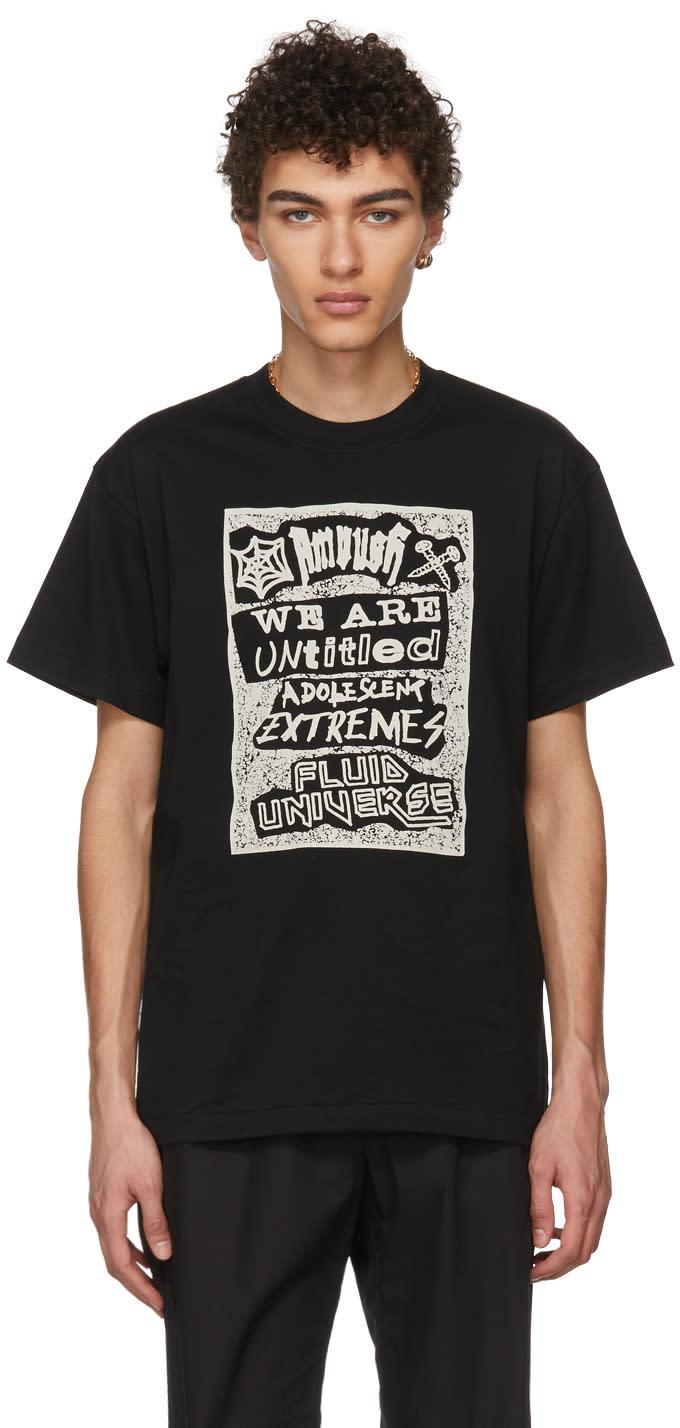 Ambush T-shirt Noir Fluid