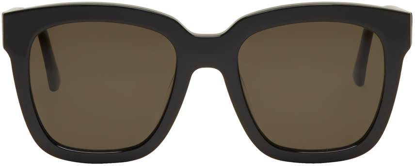 Image of Gentle Monster Black Large Dreamer Hoff Sunglasses