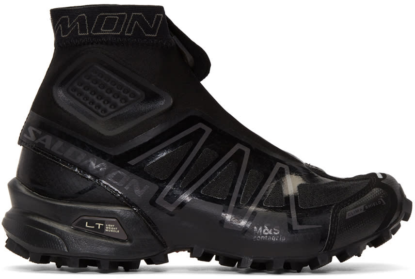 Image of Salomon Black Limited Edition S-lab Snowcross High-top Sneakers