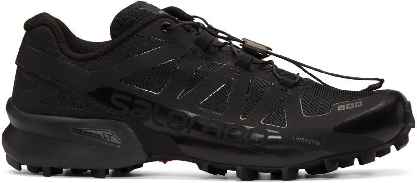 Image of Salomon Black Limited Edition S-lab Speedcross Sneakers