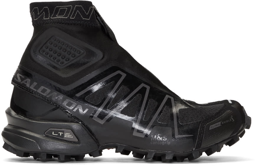 Salomon Black Limited Edition S-lab Snowcross High-top Sneakers
