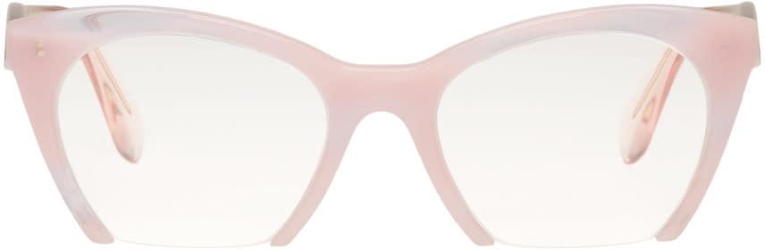 c4d66de711e9 Miu Miu Pink Rasoir Glasses