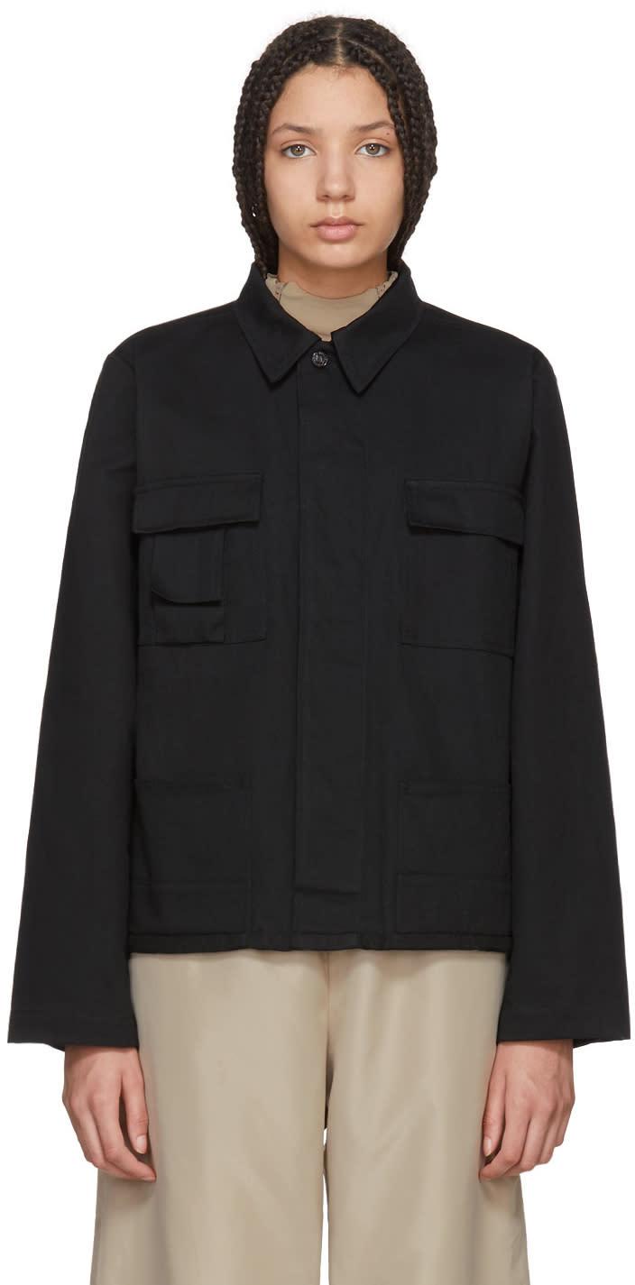 032c female 032c black wwb workers jacket