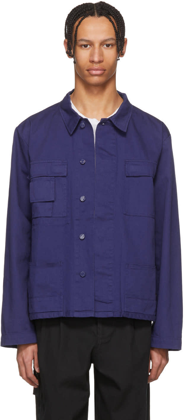032c male 032c blue wwb workers jacket