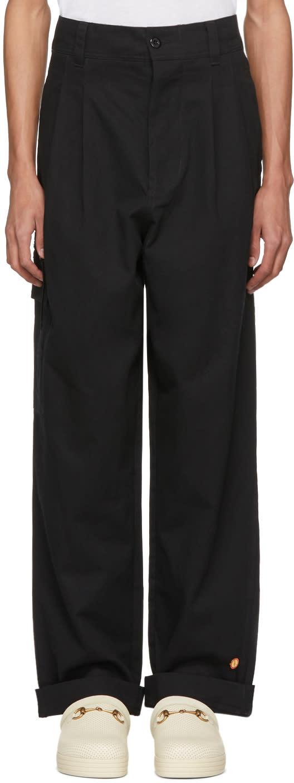 032c male 032c black wwb cargo pants