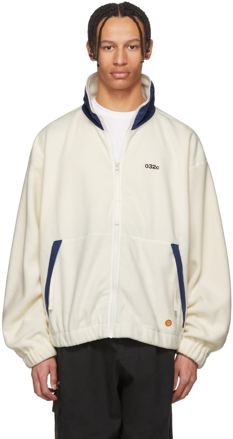 032c male 032c white wwb fleece jacket