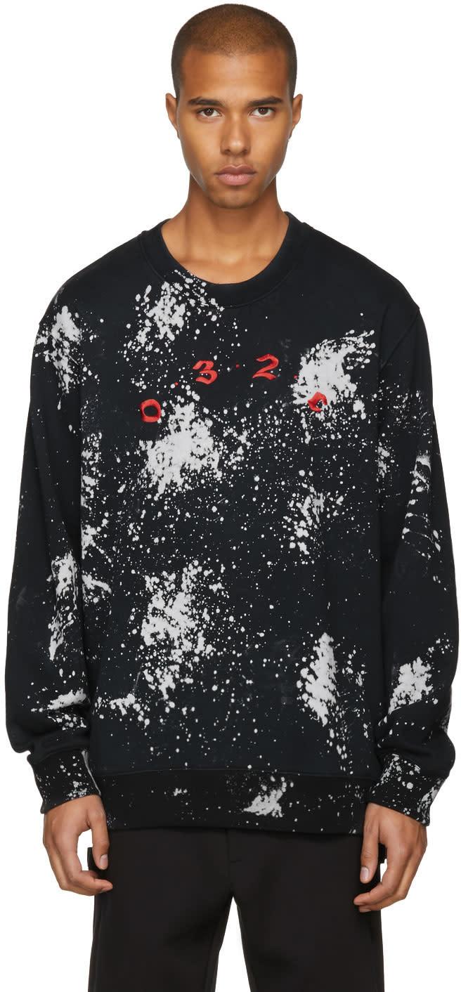 032c male 032c black peroxide sweatshirt