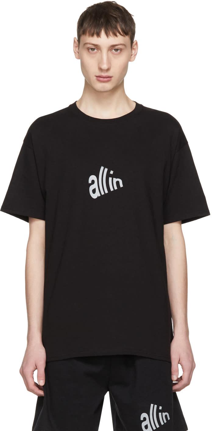 All In T-shirt Noir Signal