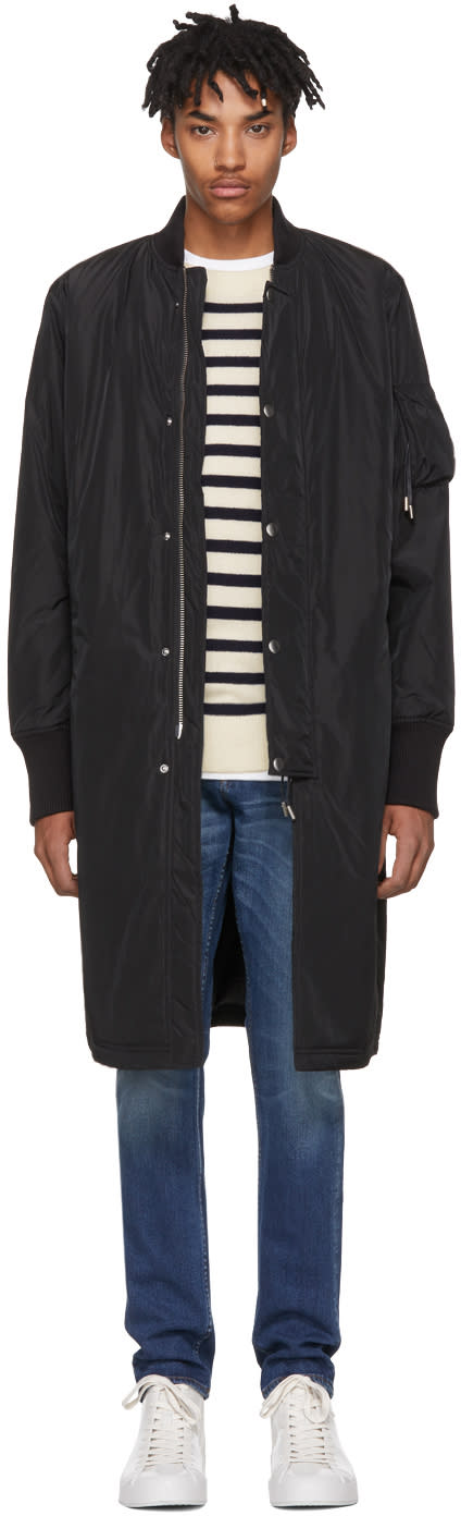 Image of Tiger Of Sweden Jeans Black Tide Coat