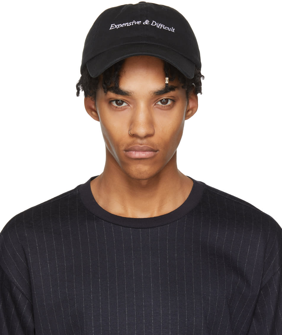 Image of Nasaseasons Black expensive and Difficult Cap