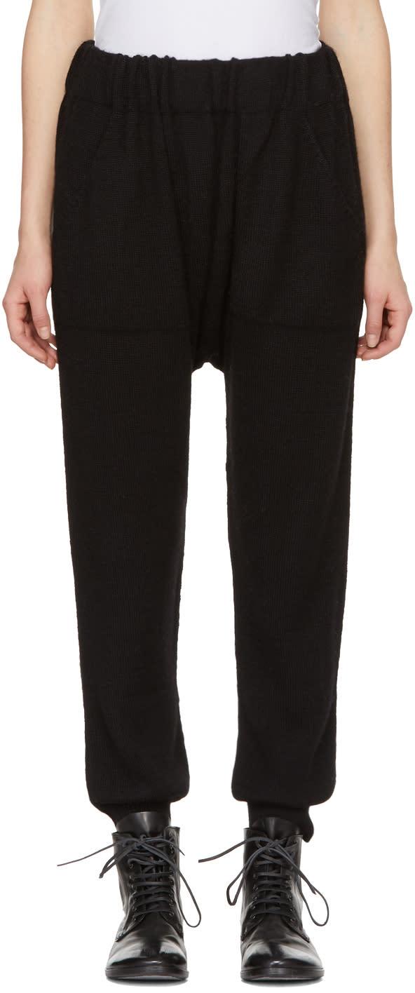 Image of Lauren Manoogian Black Arch Lounge Pants