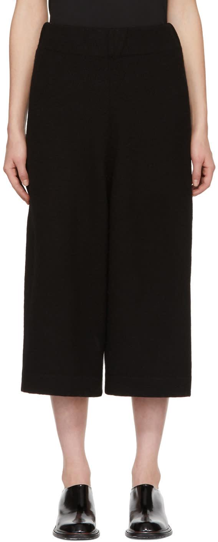 Image of Lauren Manoogian Black Miter Lounge Pants