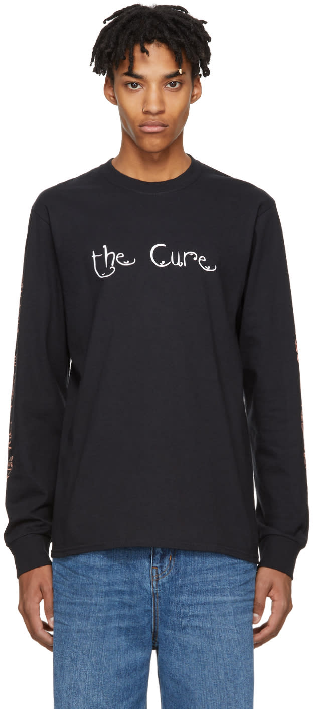 Image of Noah Nyc Black Long Sleeve kiss Me, Kiss Me, Kiss Me The Cure T-shirt