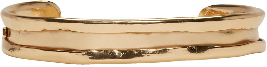Image of Emanuele Bicocchi Gold Small Cuff