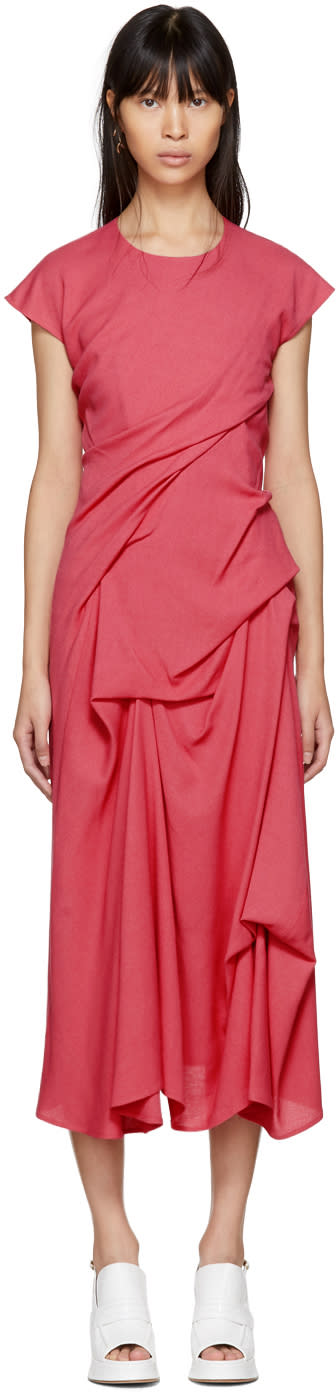 Sies Marjan Pink Paloma Twist Pickup Dress