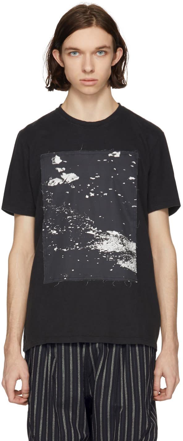 Abasi Rosborough T-shirt Noir Hemp Arc
