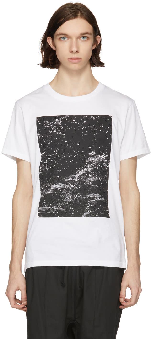 Abasi Rosborough T-shirt Blanc Arc