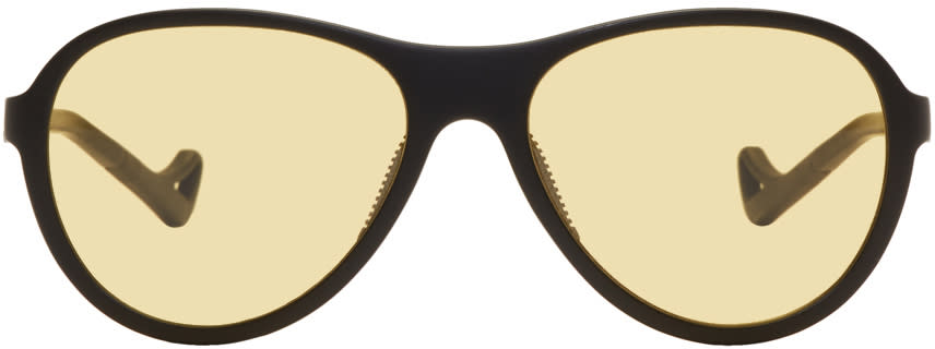 Image of District Vision Black and Yellow Kaishiro Explorer Sunglasses