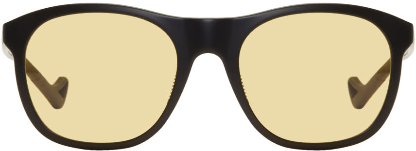 Image of District Vision Black and Yellow Nako Sunglasses