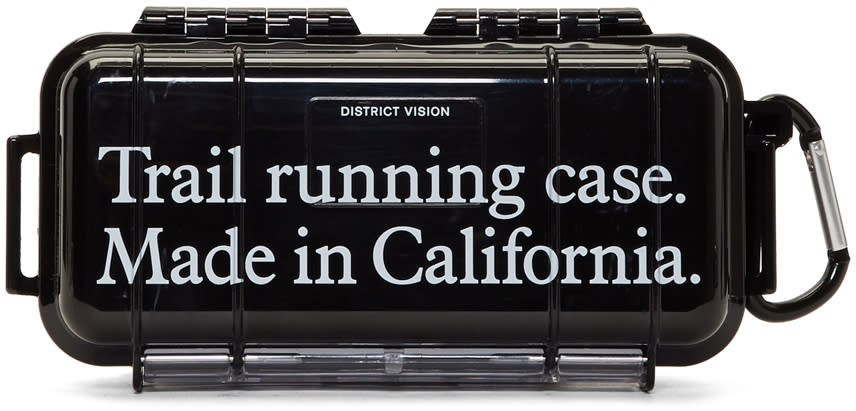 Image of District Vision Black Knox Trail Running Case