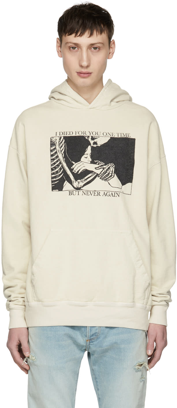 79a0ff97ac9f Rhude Off white i Died For You Hoodie