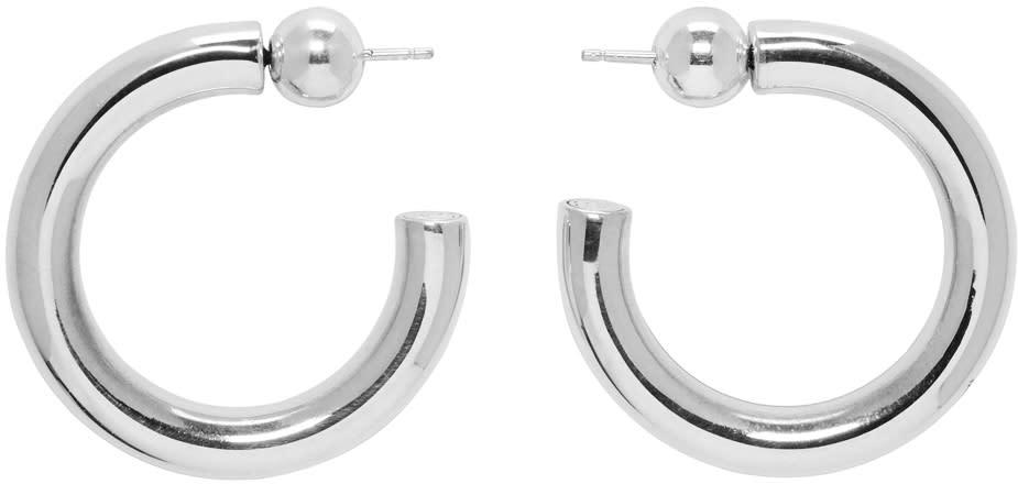 Image of Sophie Buhai Silver Small Everyday Hoop Earrings