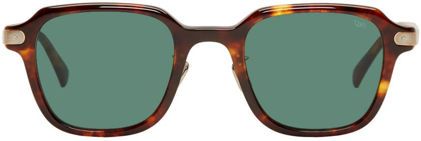 Image of Eyevan 7285 Tortoiseshell model 728 Sunglasses