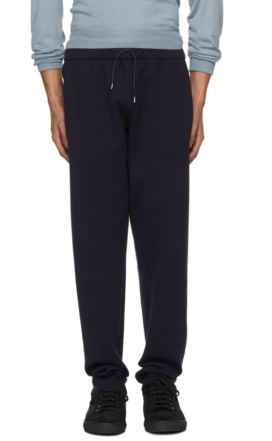 Image of Brioni Blue Cashmere Lounge Pants